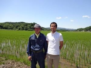 そんな新緑の季節に田中農園のお米を香港で 販売をして頂いている、俵屋玄兵衛の出口社長が 来園されました!アジア3カ国に店舗を構え 北海道米を広めている素晴らしい方です。