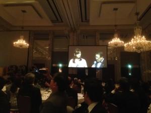司会は徳光さんと日テレの アナウンサーのお二人でした。
