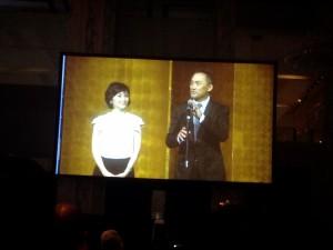 食事をしていると、俳優の渡辺謙さんとその奥様が 挨拶されていました!仲の良いご夫婦でした♪