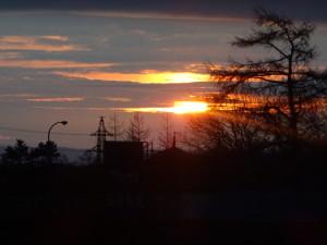 もちろん、夕焼けも綺麗です♪